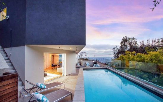 84 Franklin luxury rental home in Los Angeles, Hollywood Hills by Nomade Villa Collection