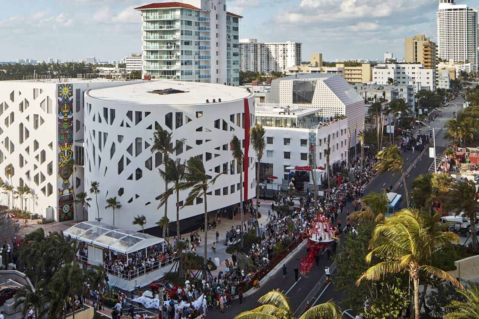 Winter Music Conference in Miami at the Faena Cultural Center - Nomade Villa Collection