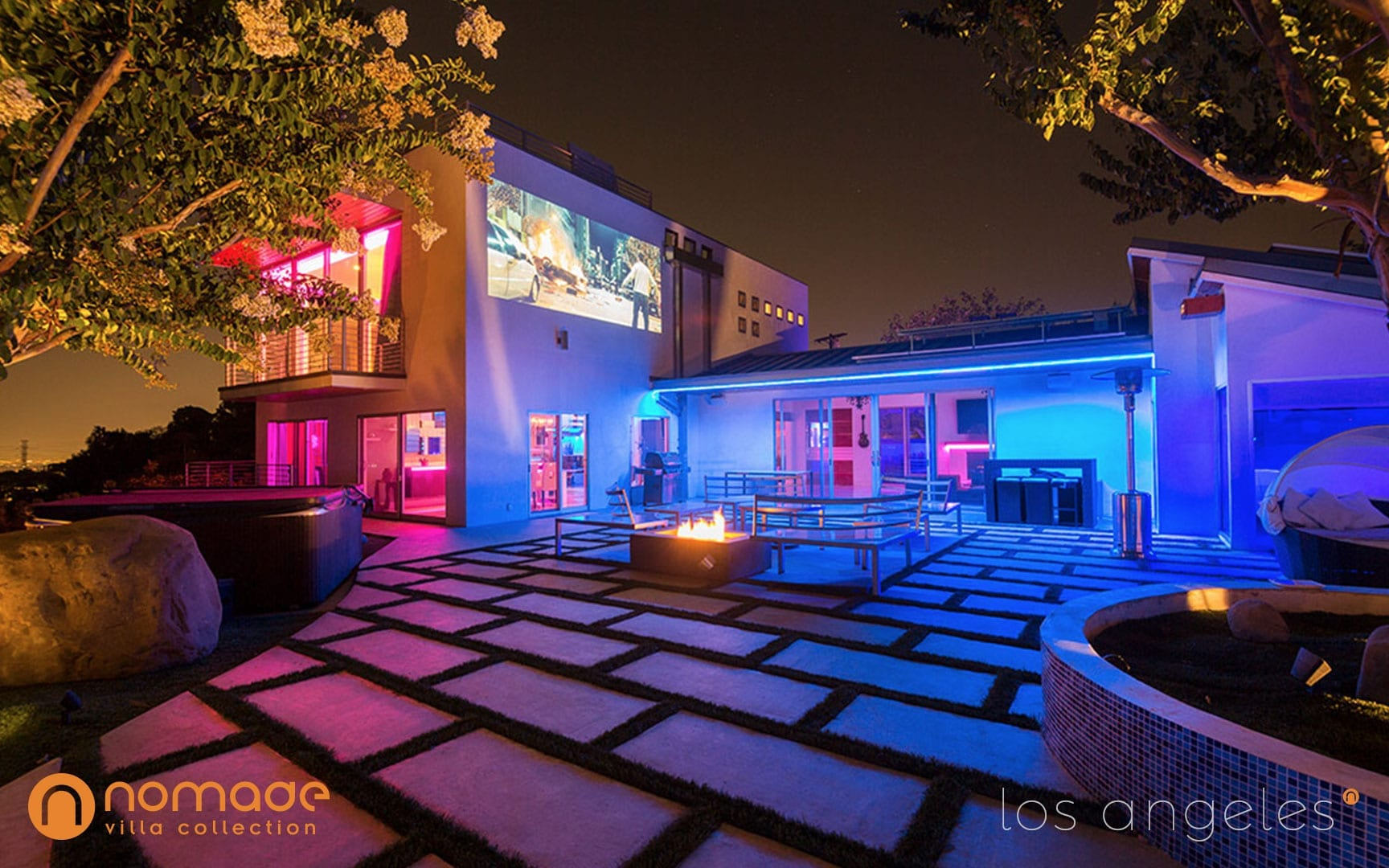Casa Azul - Los Angeles Mansion Rental - Nomade Villa Collection