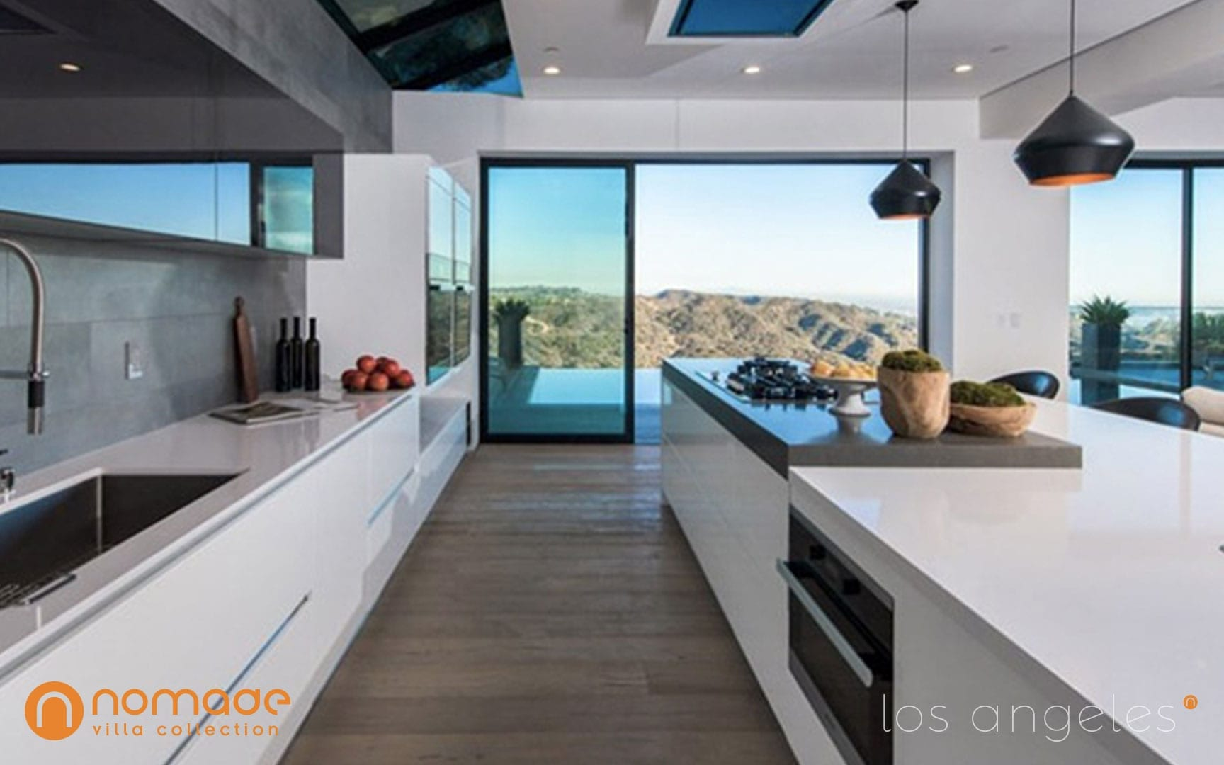 Casa Roscomare - Luxury Vacation Home in Los Angeles - Nomade Villa Collection