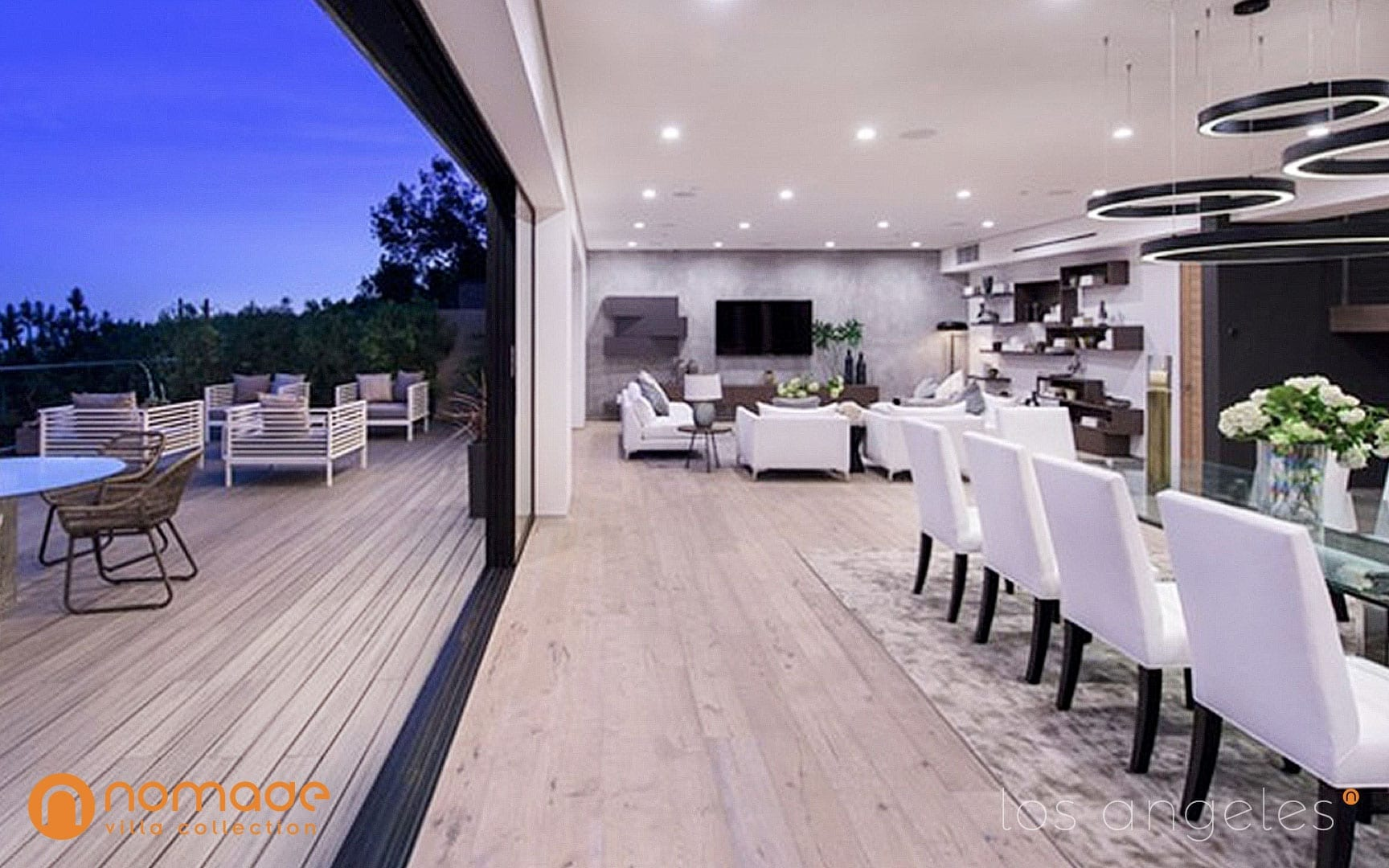 Casa Roscomare Modern Mansion Rental in Los Angeles | Nomade Villa Collection