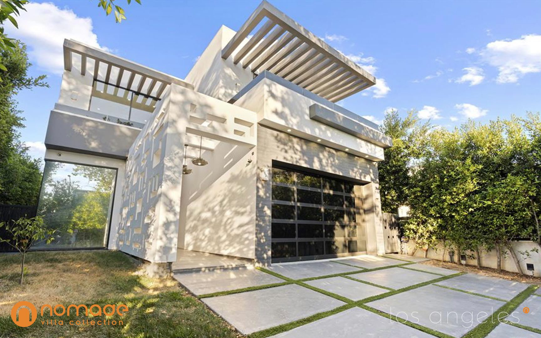 Martel Villa - Secluded luxury Los Angeles mansion rental by Nomade Villa Collection