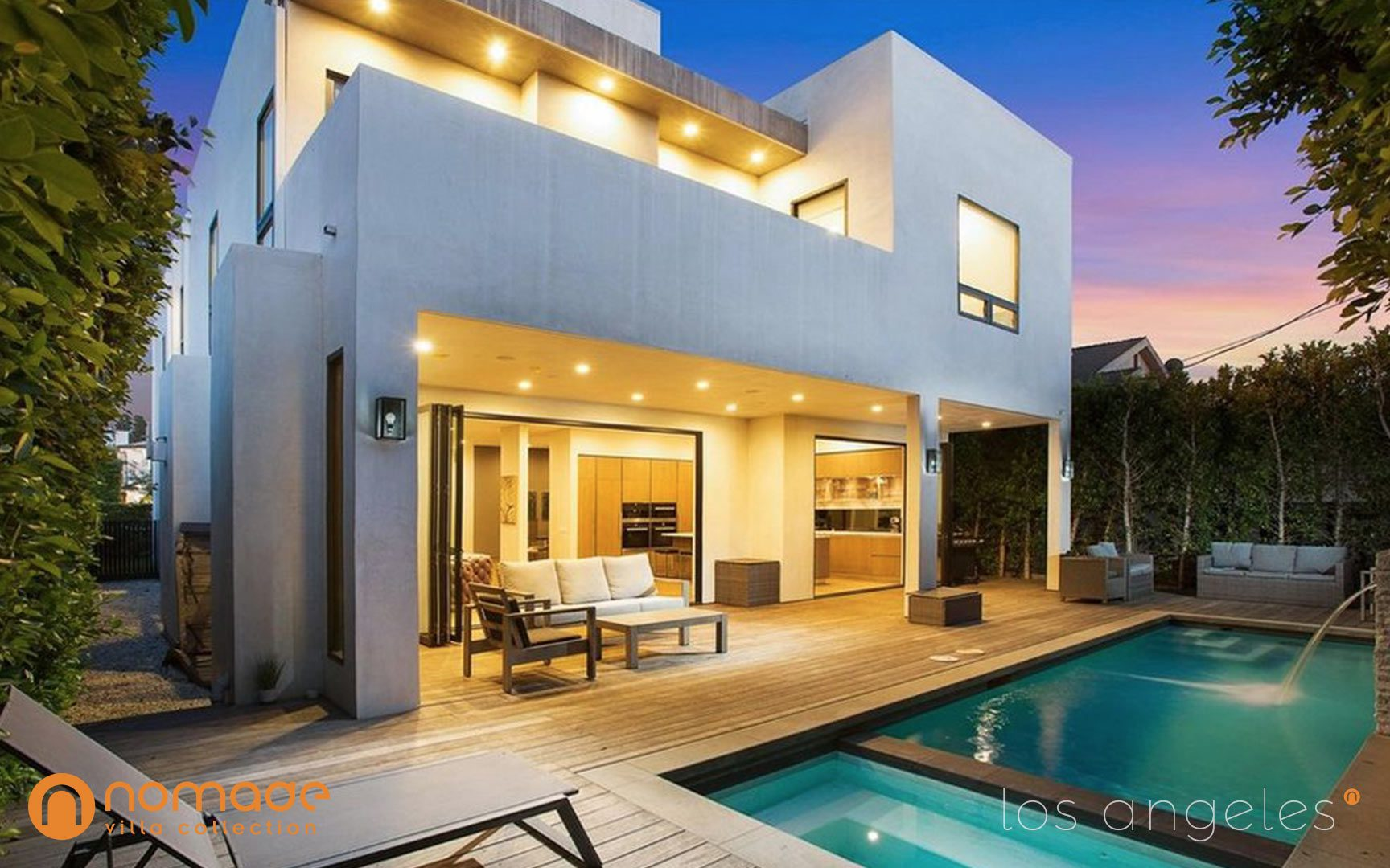 Orange Grove luxury home rental in Los Angeles by Nomade Villa Collection