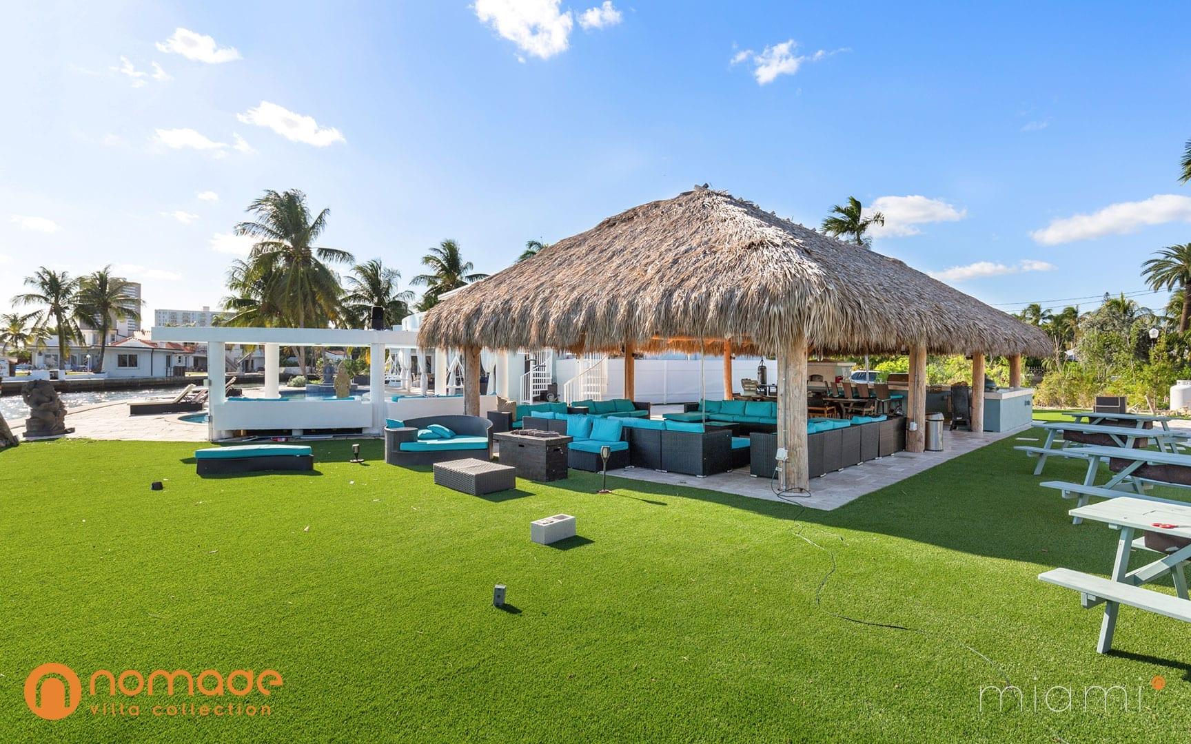Villa Casa Blu luxury vacation rental villa in Miami | Nomade Villa Collection