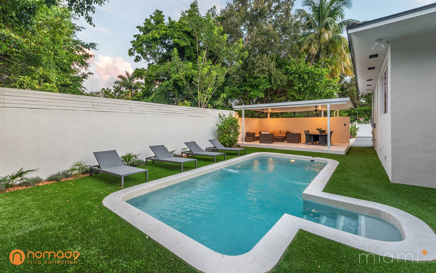 Villa Faith - Miami Villa Rental - Nomade Villa Collection